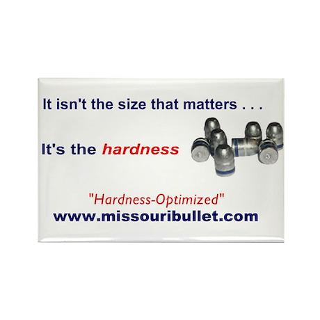 Missouri Bullet Rectangle Magnet