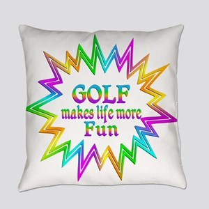 Golf Makes Life More Fun Everyday Pillow
