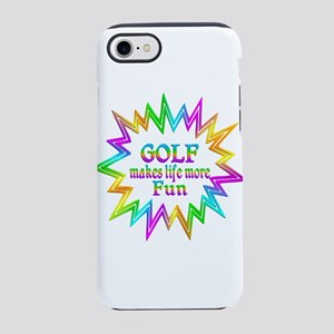 Golf Makes Life More Fun iPhone 8/7 Tough Case