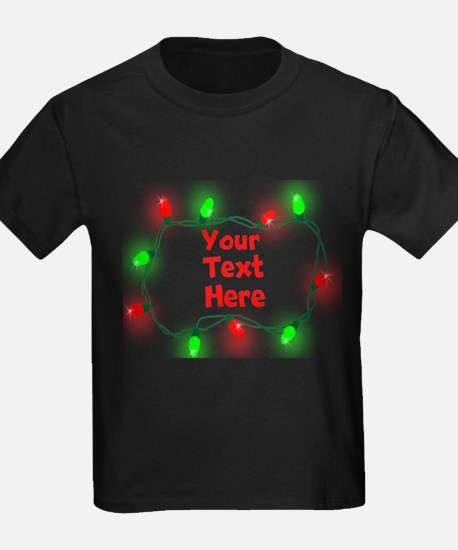 Custom Christmas Lights T-Shirt