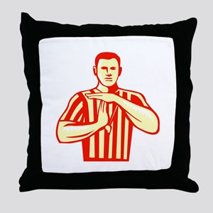 Basketball Referee Technical Foul Retro Throw Pill