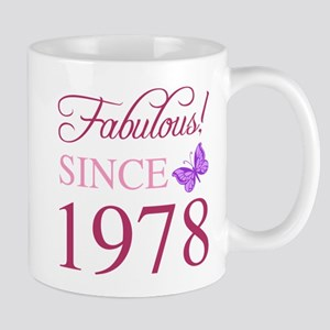 1978 Fabulous Birthday Mugs