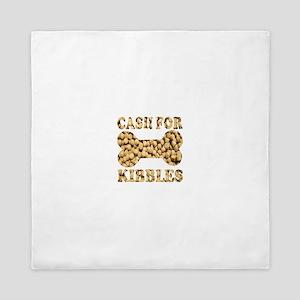 Cash for Kibbles Queen Duvet