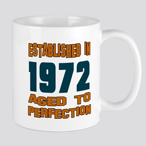 Established In 1972 Mug