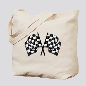 Chequered Flag Tote Bag
