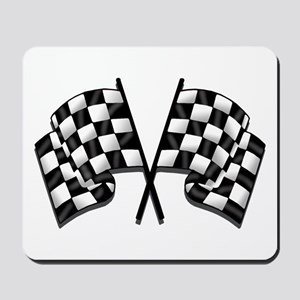 Chequered Flag Mousepad