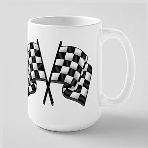 Chequered Flag Large Mug