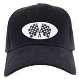 Auto racing Baseball Cap with Patch