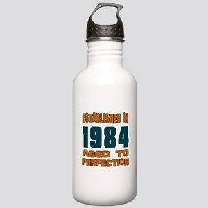 Established In 1984 Stainless Water Bottle 1.0L