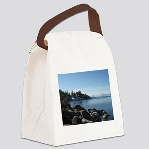 Lake Tahoe, Incline Village Canvas Lunch Bag