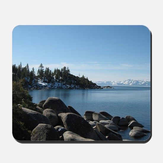 Lake Tahoe, Incline Village Mousepad