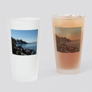 Lake Tahoe, Incline Village Drinking Glass