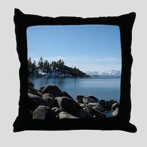Lake Tahoe, Incline Village Throw Pillow