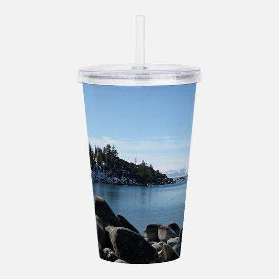 Lake Tahoe, Incline Vi Acrylic Double-wall Tumbler