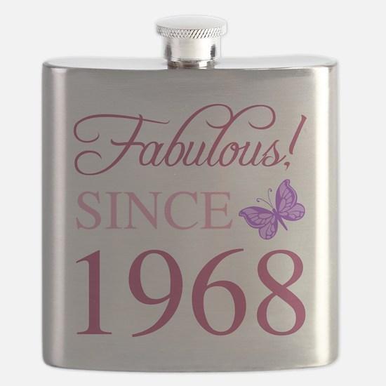 1968 Fabulous Birthday Flask