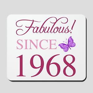 1968 Fabulous Birthday Mousepad
