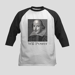 Shakespeare Will Power Baseball Jersey