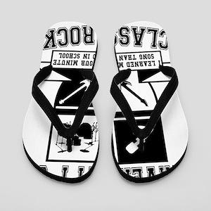 1893547f935a School Of Rock Flip Flops - CafePress