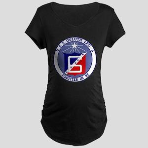 USS Duluth LPD 6 Maternity Dark T-Shirt