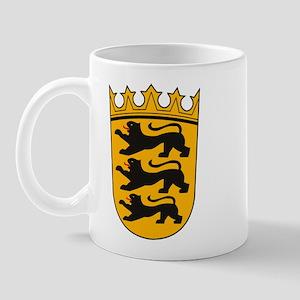 Baden Wurttemberg Coat of Arm Mug