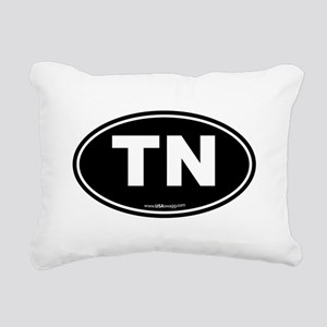 Tennessee TN Euro Oval Rectangular Canvas Pillow