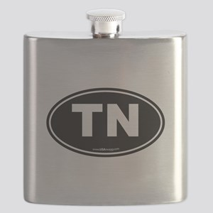 Tennessee TN Euro Oval Flask