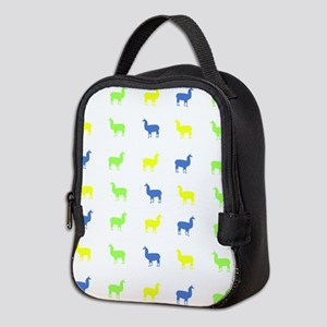 Llamas Neoprene Lunch Bag