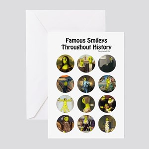 Historical Smileys Greeting Cards (Pk of 20)
