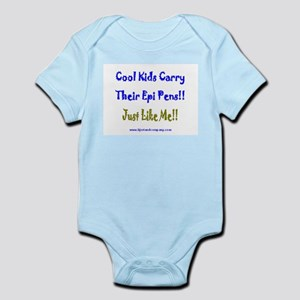 Cool Kids Carry Epi Pens Infant Bodysuit