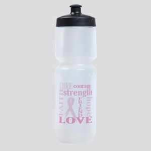 Breast Cancer Friend Support Sports Bottle