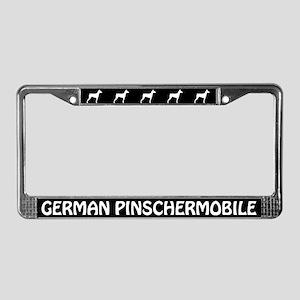 German Pinschermobile License Plate Frame