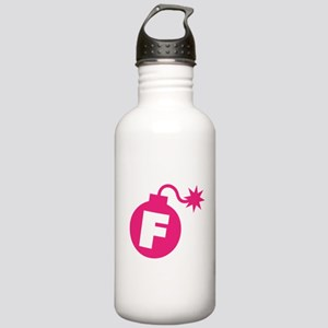 Funny F Bomb Spark Hum Stainless Water Bottle 1.0L