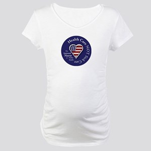 NN Patriotic Heart Maternity T-Shirt