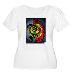 Universe in the belly of a wo T-Shirt