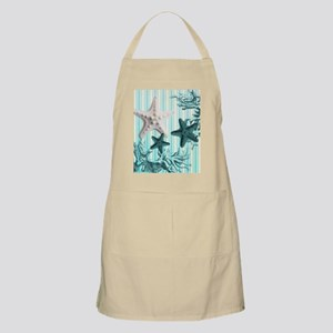 romantic seashells shabby chic Apron