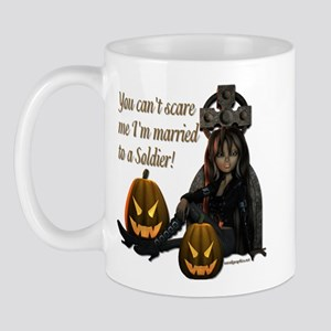 Can't Scare Me -Soldier 2 Mug