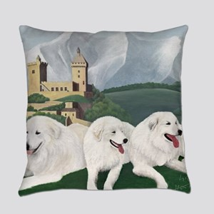 Great Pyrenees Foix Everyday Pillow