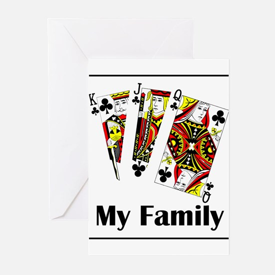 My Family Greeting Cards (Pk of 10)