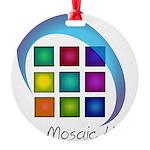 The Mosaic Hub Logo Ornament