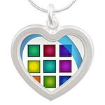 The Mosaic Hub Logo Necklaces