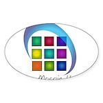 The Mosaic Hub Logo Sticker