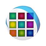 The Mosaic Hub Logo Button
