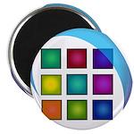 The Mosaic Hub Logo Magnets
