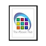 The Mosaic Hub Logo Framed Panel Print