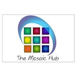 The Mosaic Hub Logo Posters