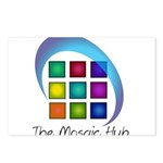 The Mosaic Hub Logo Postcards (Package of 8)