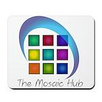 The Mosaic Hub Logo Mousepad