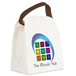The Mosaic Hub Logo Canvas Lunch Bag