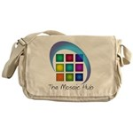 The Mosaic Hub Logo Messenger Bag