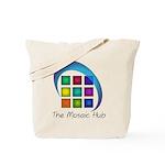 The Mosaic Hub Logo Tote Bag